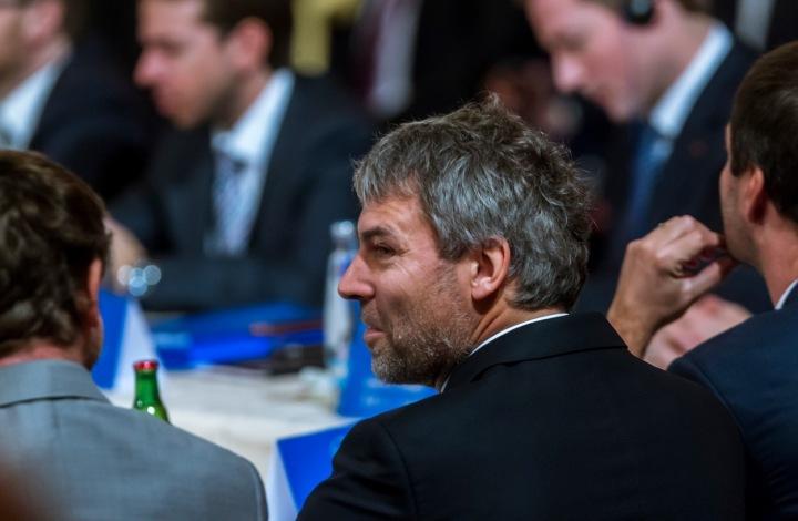 Petr Kellner na Žofíně při návštěvě čínského prezidenta v Česku