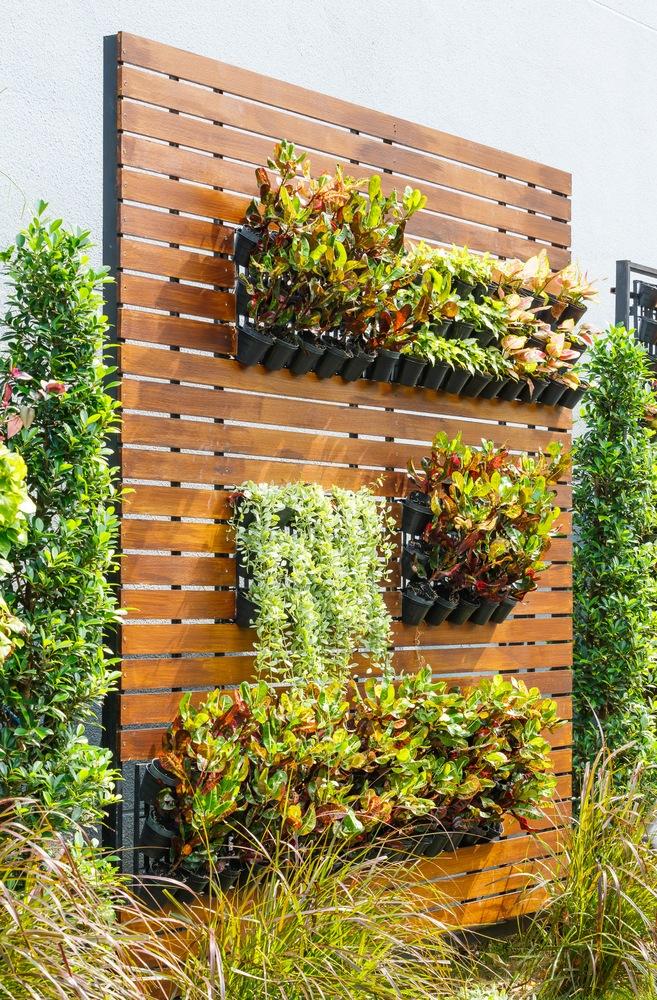 Vertikální zahrady.