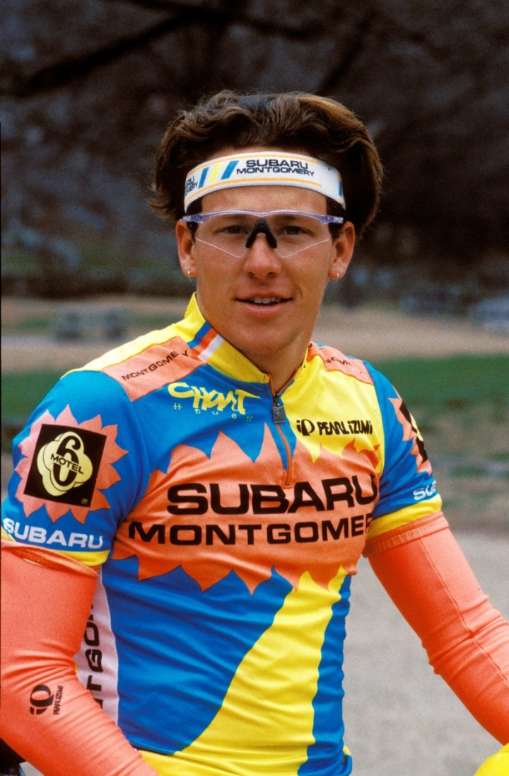 Lance Armstrong v roce 1989