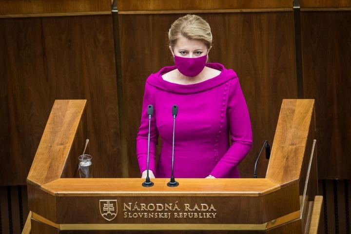 Prezidentka Zuzana Čaputová je ve virtuálním světě stejně populární, jako v tom reálném