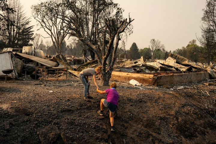 Půl milionu lidí musí být v Oregonu evakuováno