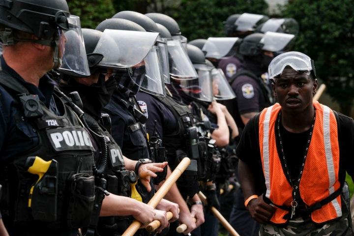 Protesty v Americe