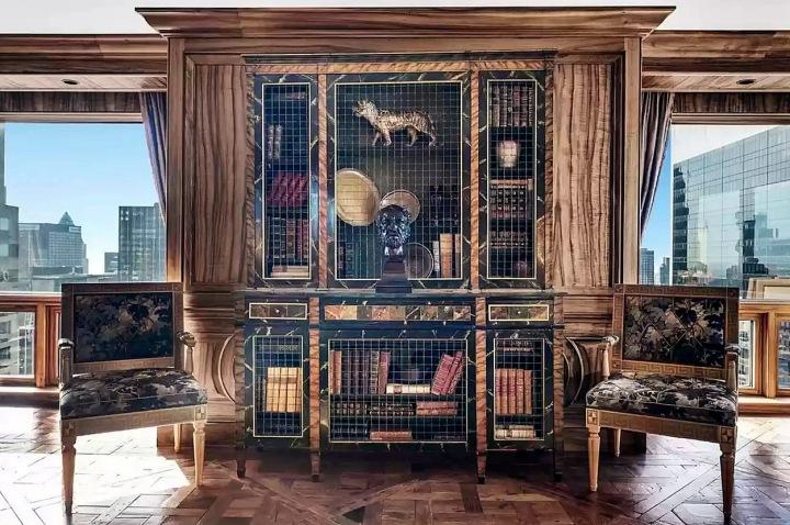 Knihovna s výhledem.