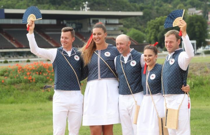 Český tým v olympijské kolekci