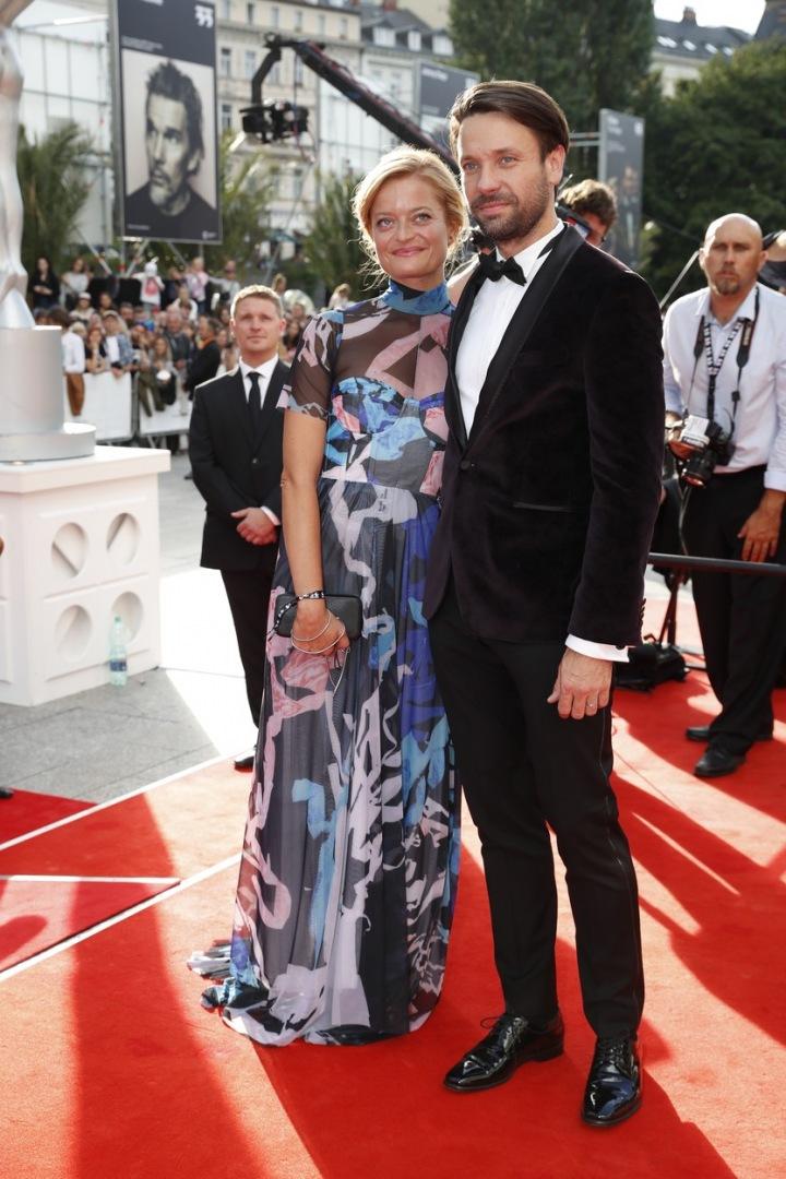 Václav Neužil s manželkou Lenkou