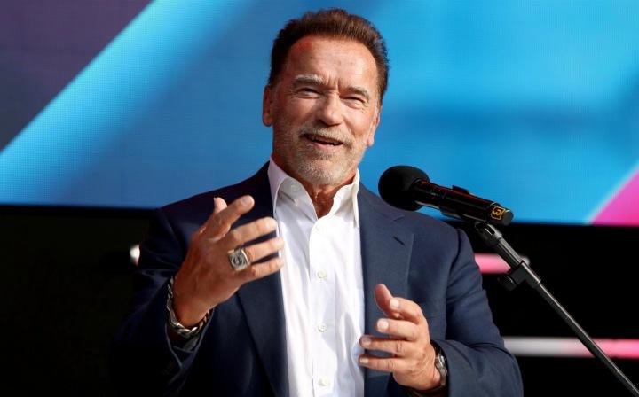 Arnold Schwarzenegger je stále ve formě