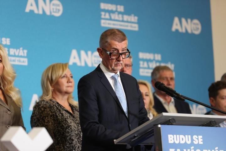 Oproti všem očekáváním ANO Andreje Babiše skončila druhá