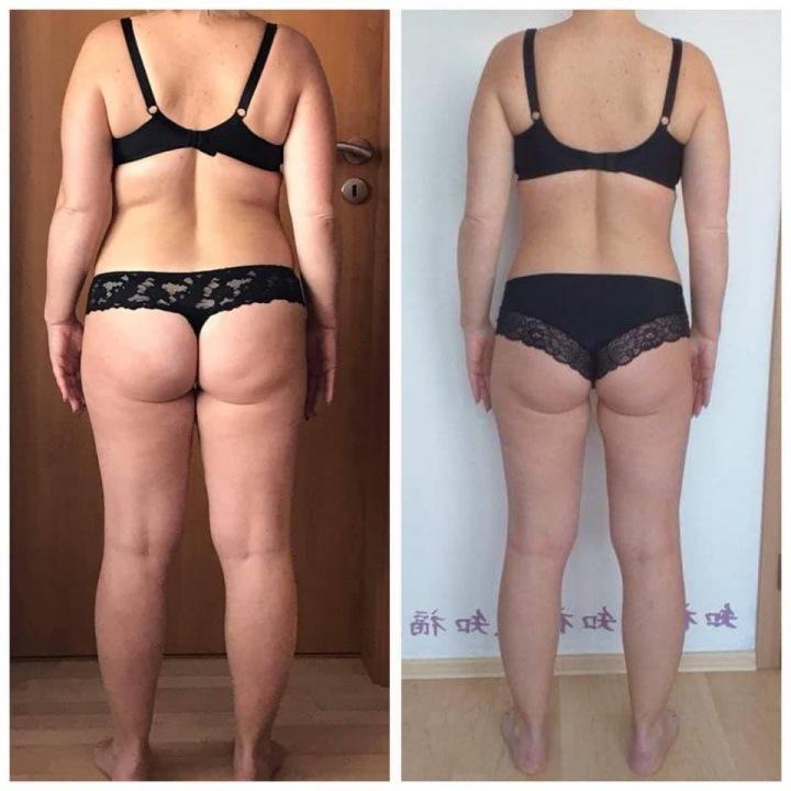 Proměna ženy - redukce systémem vlastního těla