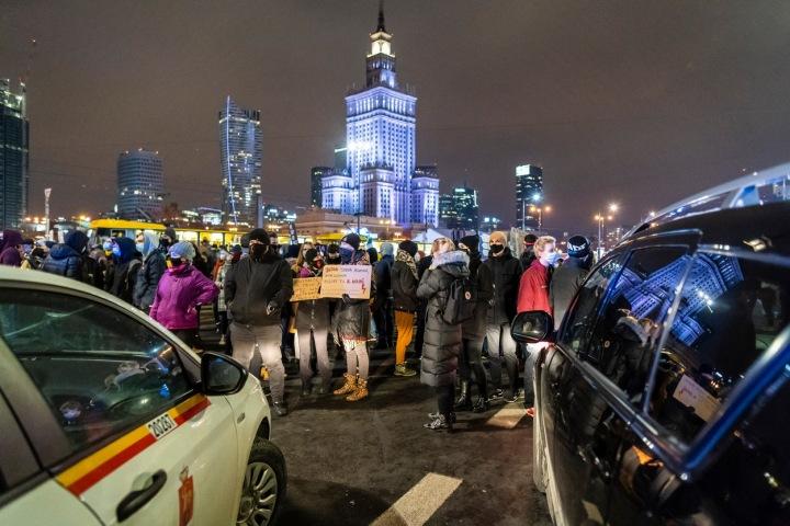 Protesty ve Varšavě