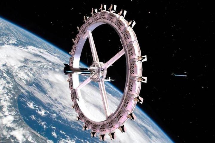 První vesmírný hotel Voyager Station