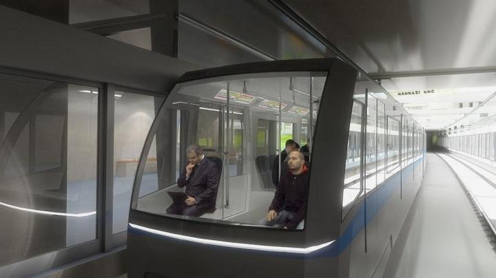Metro na trase D v Praze se bude zřejmě řídit samo.
