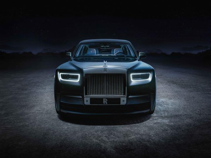 Rolls-Royce Phatom Tempus, pohled zepředu
