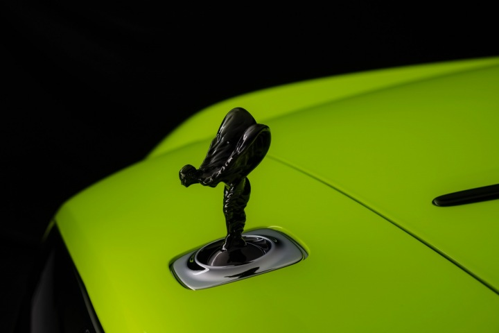 Rolls-Royce Wraitn, symbol automobilky