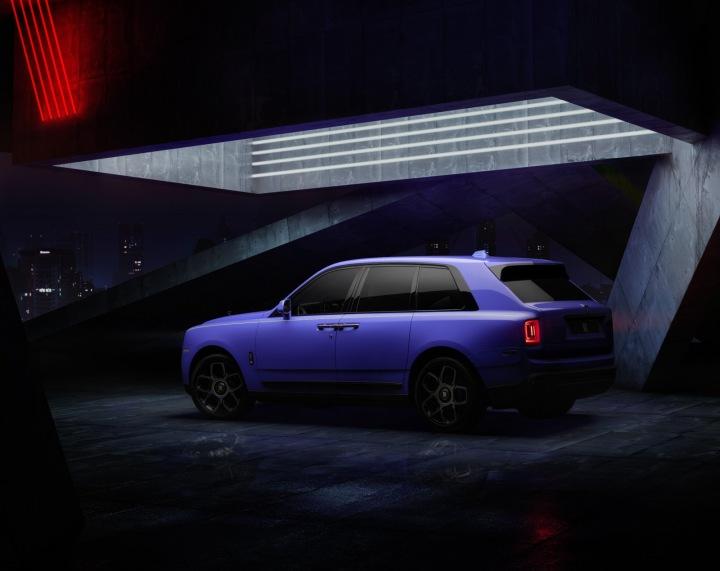 Rolls-Royce v barvě Mirabeau Blue