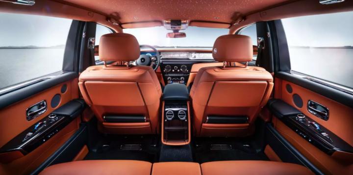 Rolls-Royce Phantom interiér