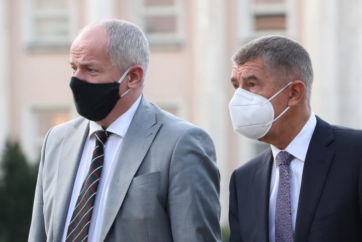 Roman Prymula a Andrej Babiš
