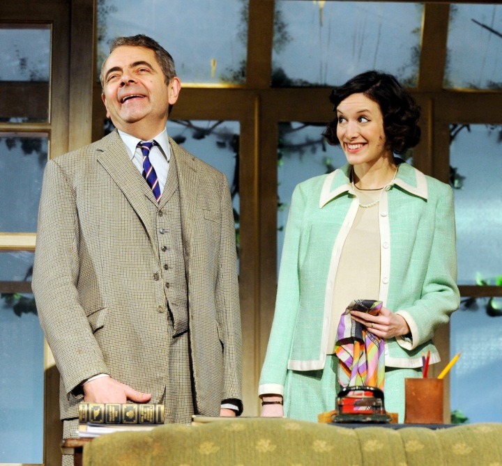 Rowan Atkinson a Louise Ford