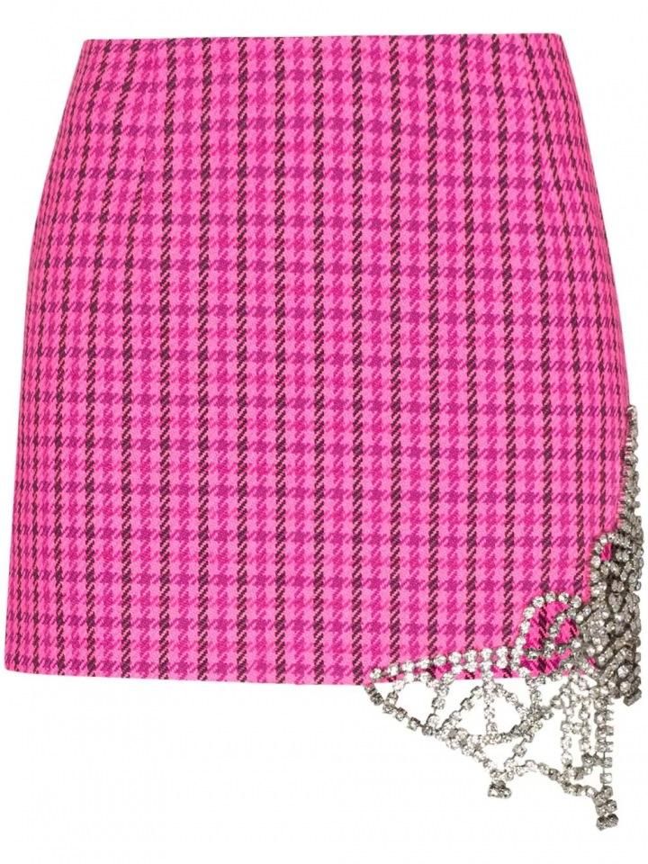 Růžová sukně Area