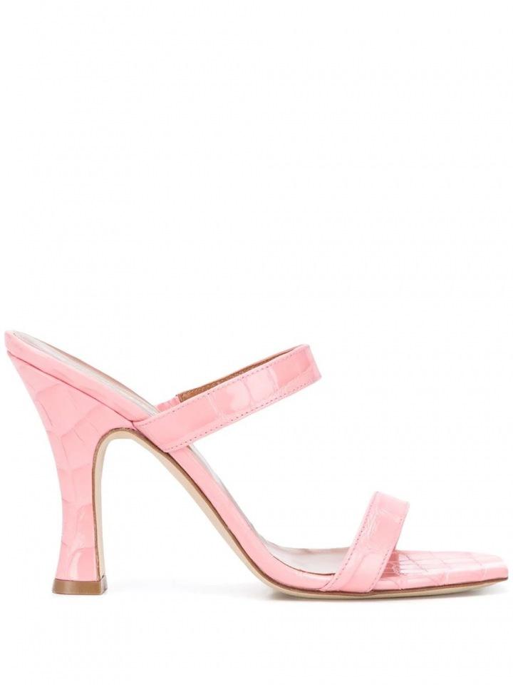 Růžové sandálky Paris Texas