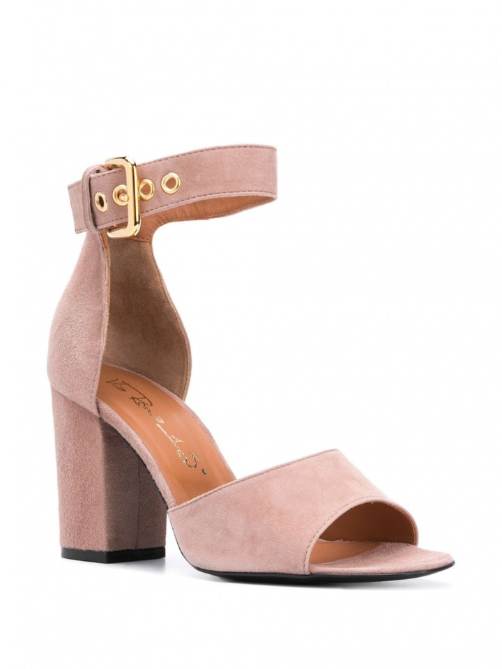 Růžové sandálky Via Roma 15