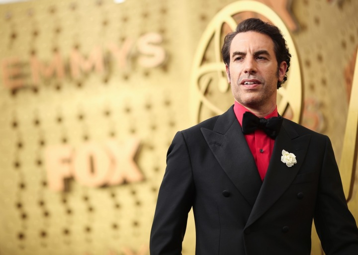 Sacha Baron Cohen v roce 2019 na filmových cenách