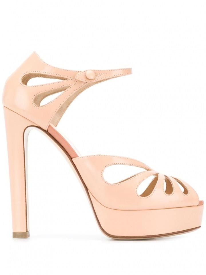 Nude sandále Francesco Russo