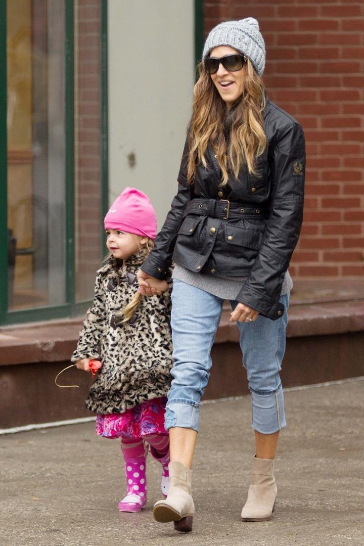 Sarah Jessica Parker s dcerou.