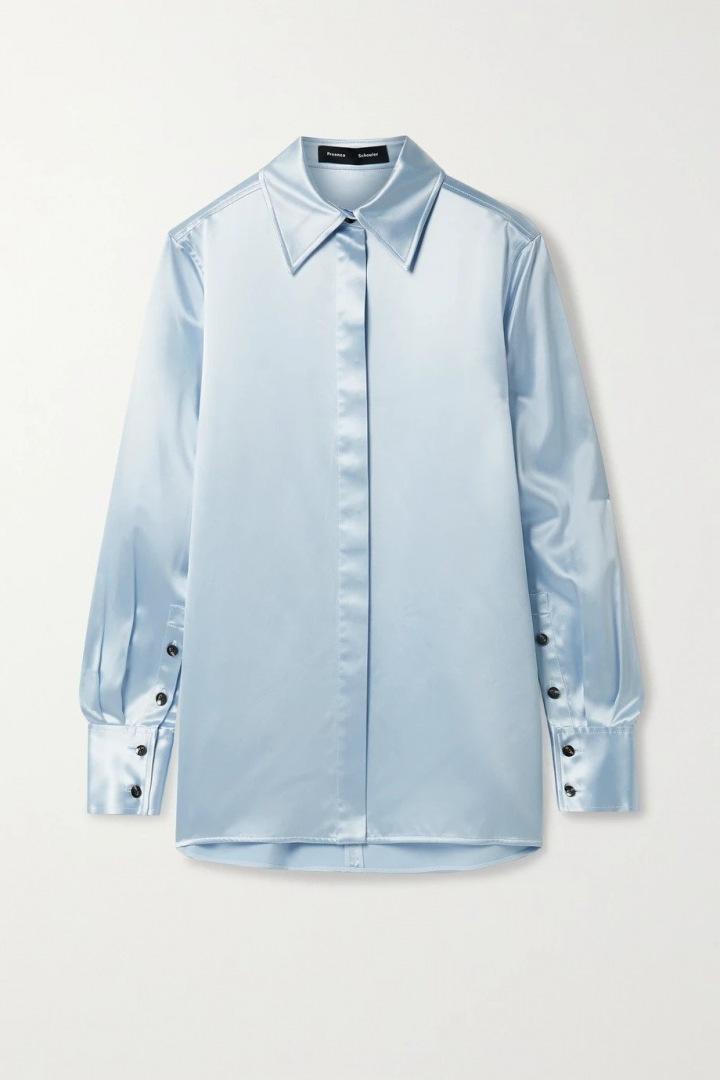 Saténová košile Proenza Schouler