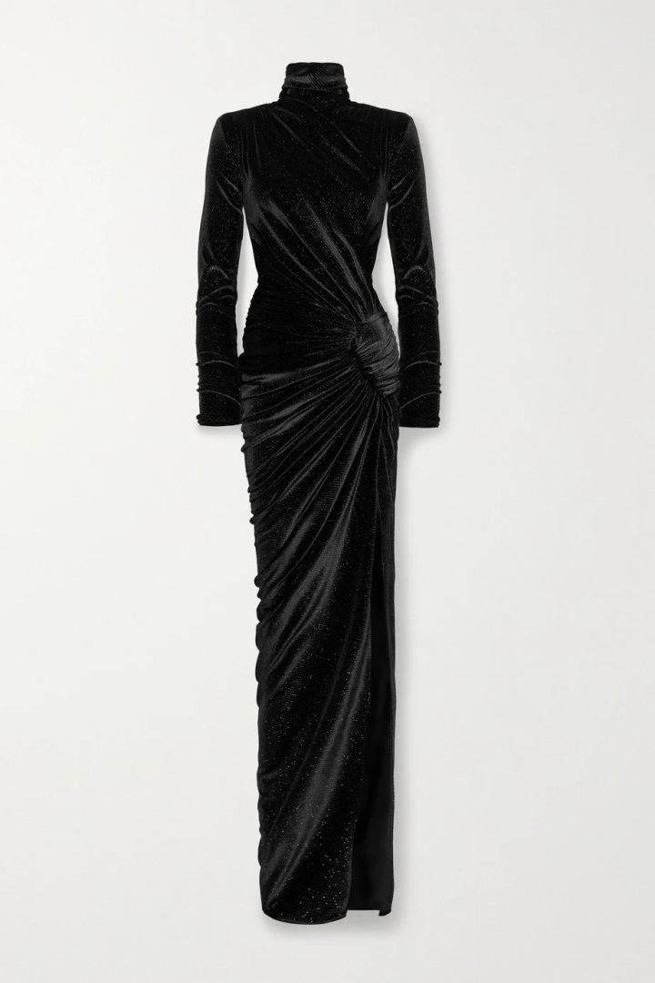 Černé šaty Alexander Vauthier