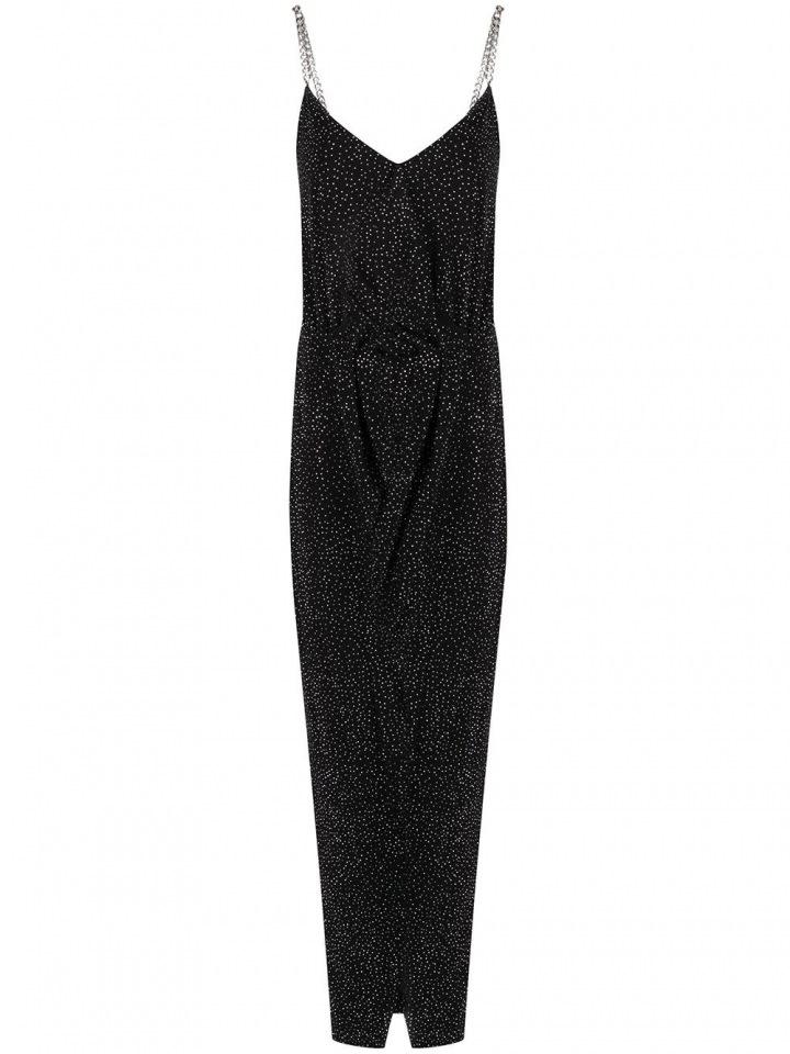 Černé šaty Balmain