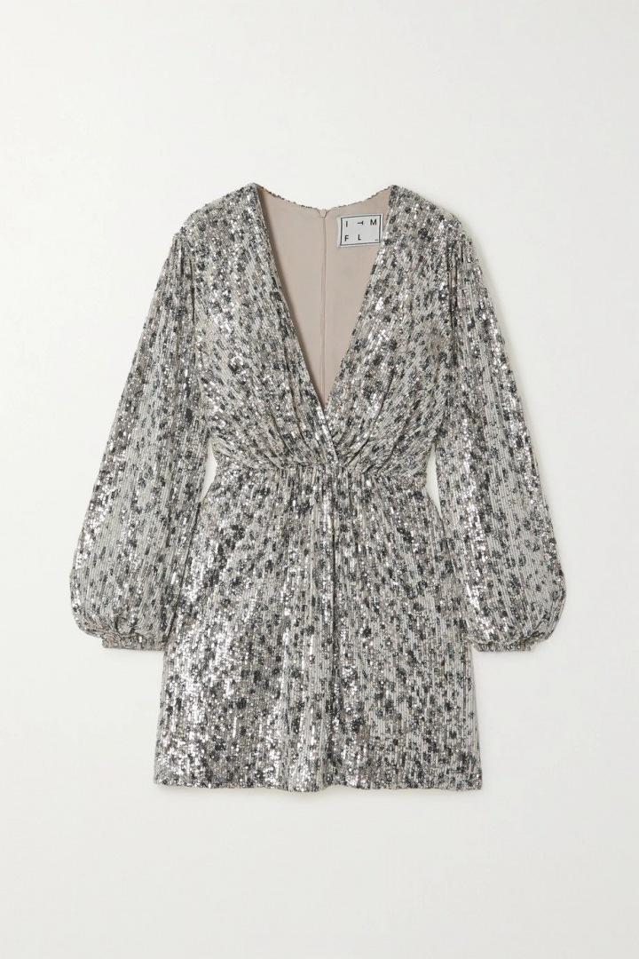 Stříbrné šaty In The Mood For Love