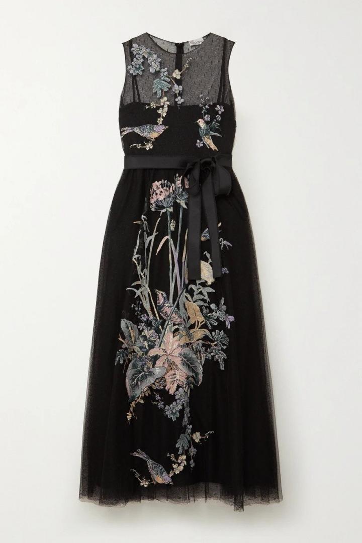 Černé šaty REDValentino