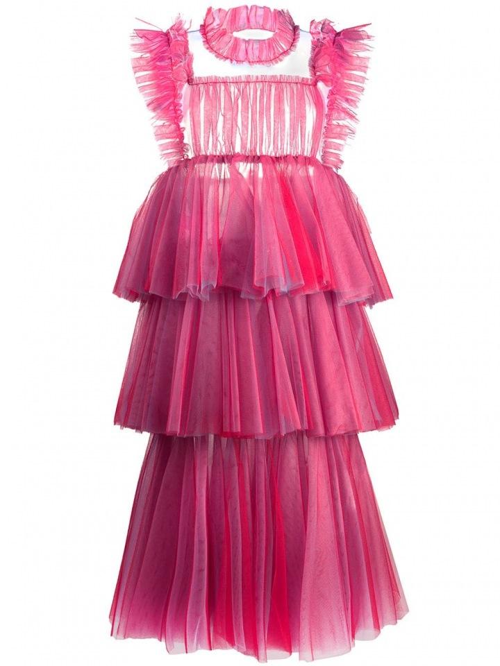 Růžové šaty Viktor & Rolf