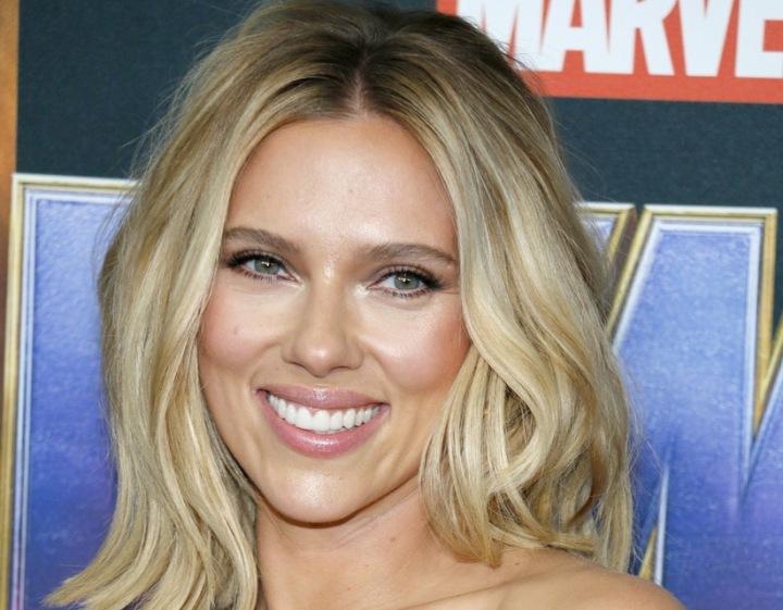 Herečka Scarlett Johansson