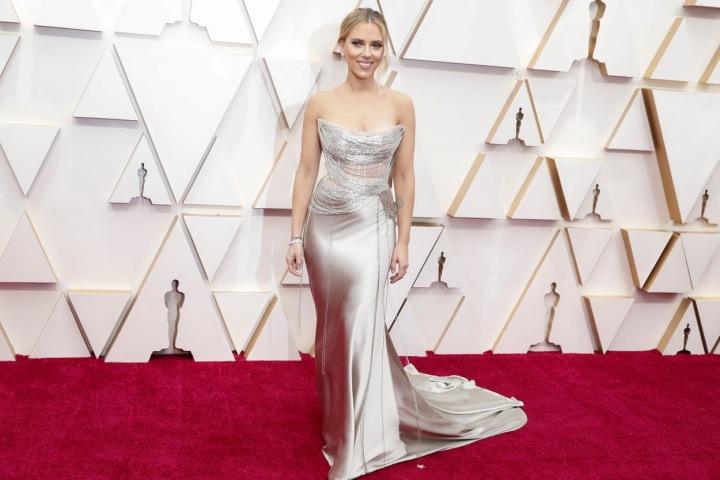 Hollywoodská herečka Scarlett Johansson