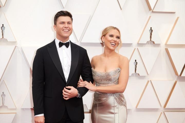 Scarlett Johansson s manželem