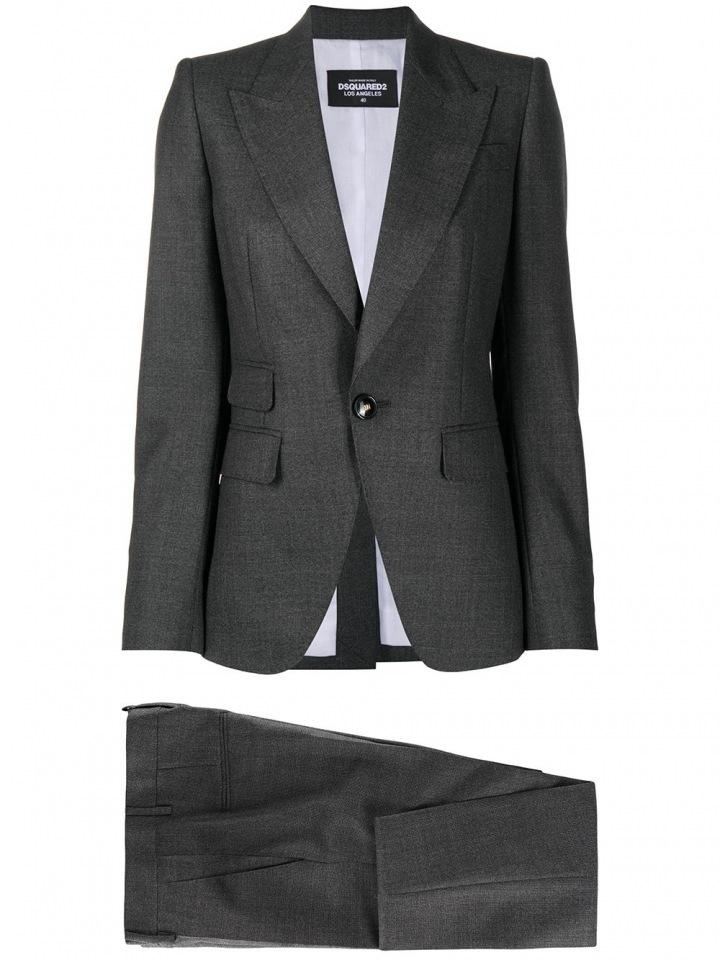 Šedý oblek Dsquared2