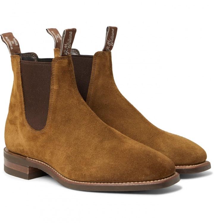 Semišové boty R.M. Williams