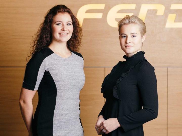 zleva: Alexandra a Katharina Andersenovy