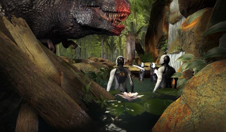 Setkání s Tyranosaurem díky speciální technologii