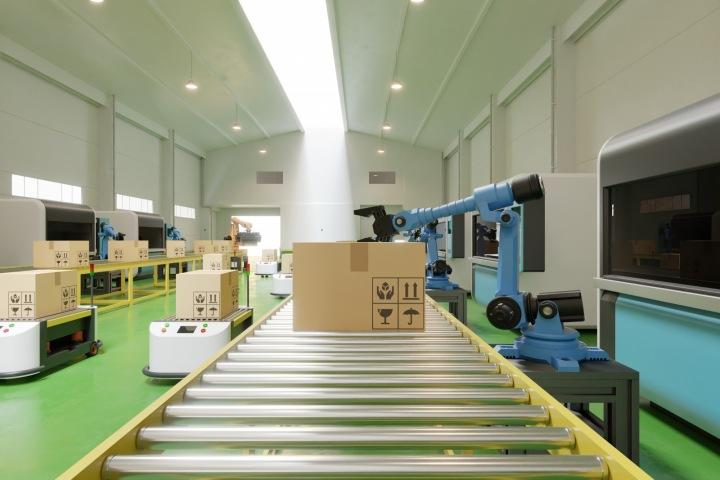 Robot ve skladu