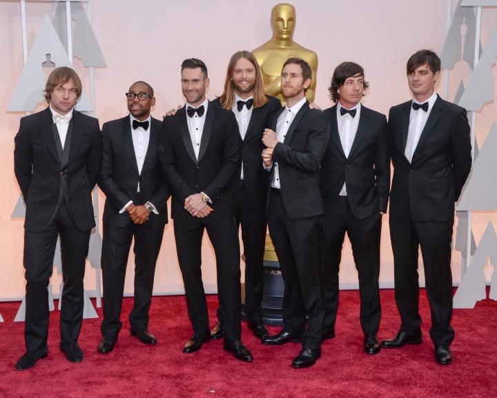 Skupina Maroon 5.