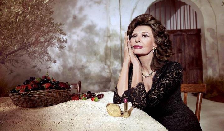 Sophia Loren v reklamě Dolce a Gabbana