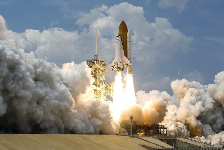 Start rakety.