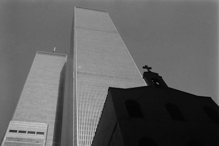 Budovy Světového obchodního centra v NY