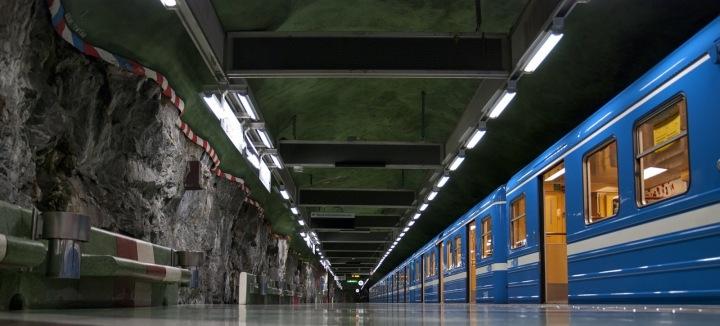 Stockholmské metro