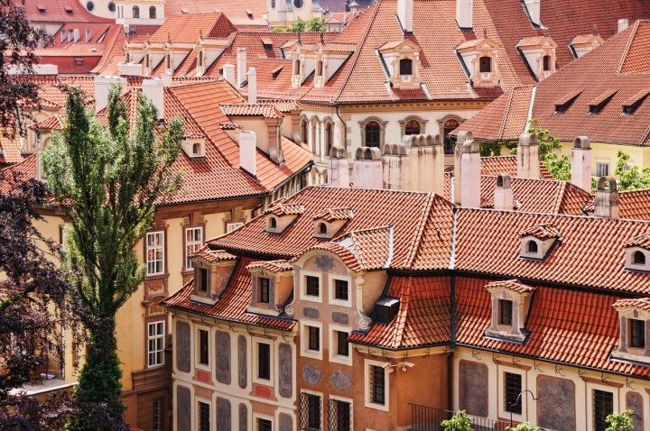 Domy v Praze