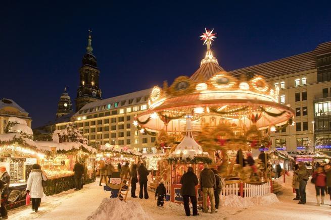 Nejstarší německý vánoční trh.