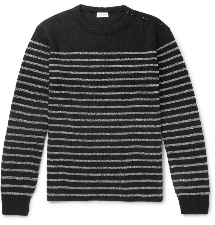 Pruhovaný svetr Saint Laurent