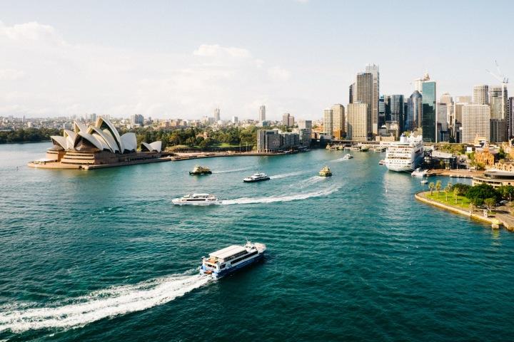 Australské město Sydney